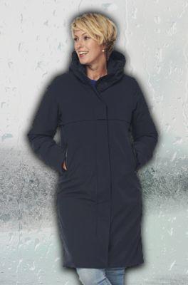 Happy Rainy Days jas boston padded coat blauw