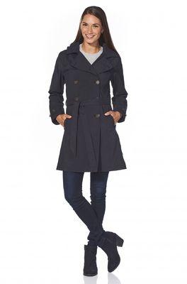 Happy Rainy Days jas bowie trenchcoat black