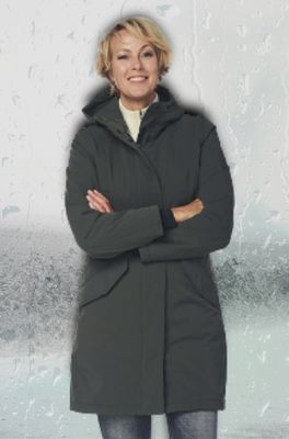Happy Rainy Days jas coat padded orlando olijf