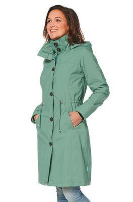 Happy Rainy Days jas gaby coat groen