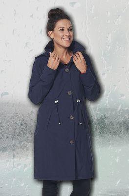 Happy Rainy Days jas madonna coat blauw