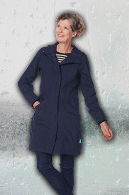 Happy Rainy Days jas madonna parka blauw