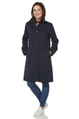 Happy Rainy Days jas madrid soft touch coat blauw
