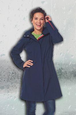 Happy Rainy Days jas nelly blauw