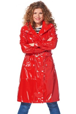 Happy Rainy Days jas ronja red