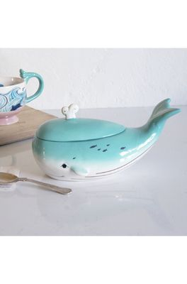 House of Disaster pot by the sea whale