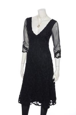 Hunza jurk black on black