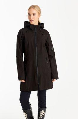 Ilse Jacobsen jas rain 37 zwart