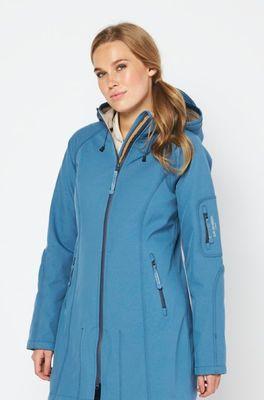 Ilse Jacobsen jas rain 37b blauw