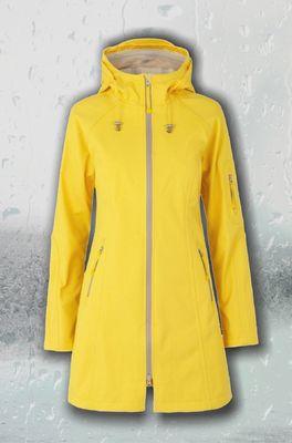 Ilse Jacobsen jas RAIN 37B geel