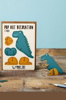 Isa cards & gifts pop out kaart dino