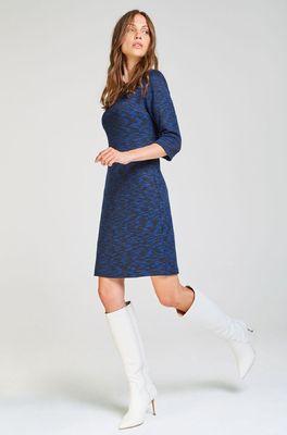 Kala jurk dress blauw blauw