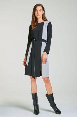 Kala jurk dress multicolor zwart