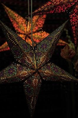 Starlightz kerstster Blauw