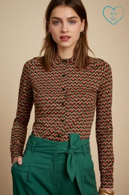 King Louie bloes residence blouse multicolor