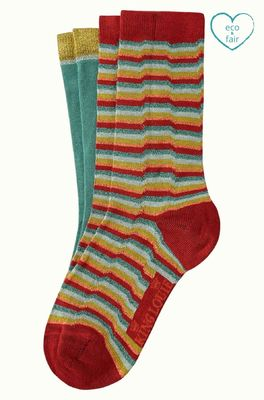 King Louie sokken flatliner socks multicolor