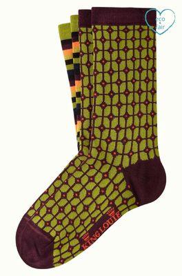 King Louie sokken fudge socks multicolor