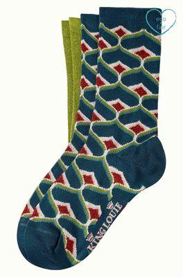 King Louie sokken spades socks multicolor