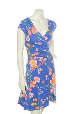 Klaes & Myra's jurk angel botanic blauw