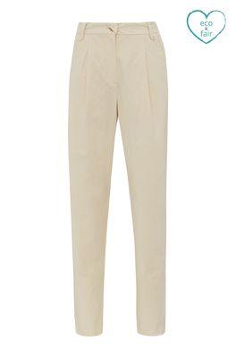 Komodo broek lila trousers creme
