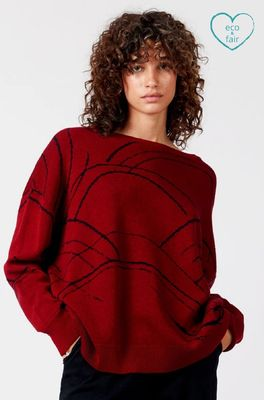 Komodo trui gabriella jumper rood