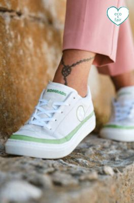 Komrads sneaker GREEN-LOW