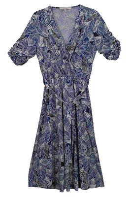 La Fée Maraboutée jurk blauw FB7557