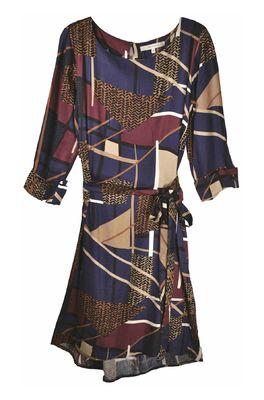 La Fée Maraboutée jurk blauw