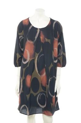 La Fée Maraboutée jurk fb5068 bruin
