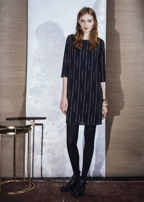 La Fée Maraboutée jurk fb5322 zwart