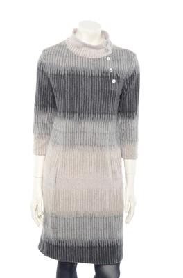 La Fée Maraboutée jurk fb5625 grijs