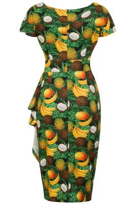 Lady V jurk elsie groen