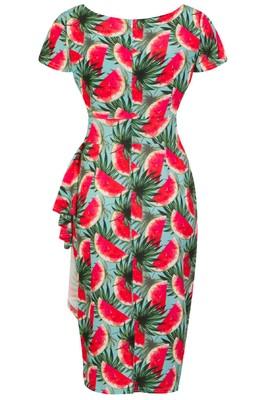 Lady V jurk elsie rood