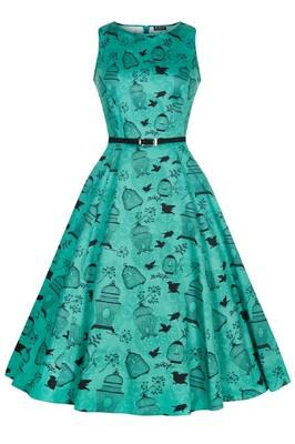 Lady V jurk hepburn groen