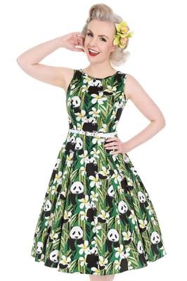 Lady V jurk hep groen