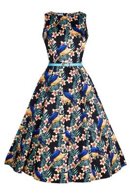 Lady V jurk hep multi