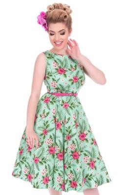 Lady V jurk summer fern