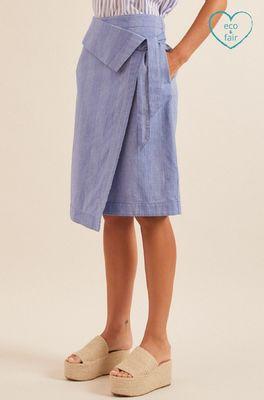 Lanius rok wickelrock  blauw