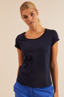 Lanius shirt kurzarm blauw