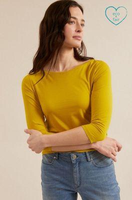 Lanius shirt u-bootshirt groen