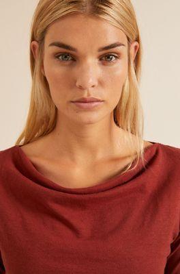 Lanius shirt wasserfallshirt bruin
