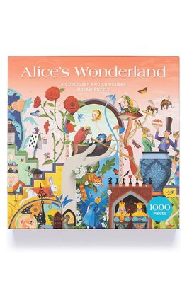Laurence King Puzzel The world of Alice in Wonderland
