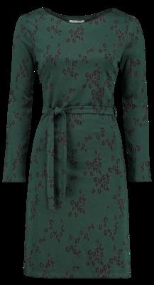 Le Pep jurk feline groen