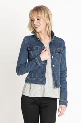 Lee jas jacket slim rider blauw