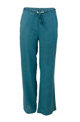 Lily & Me broek relax everyday trousers petrol