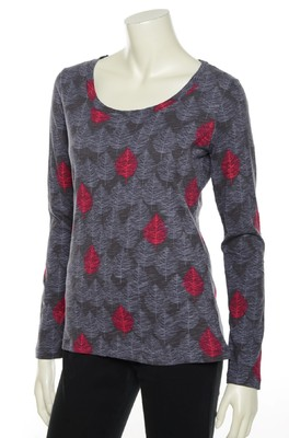 Lily & Me shirt grijs print