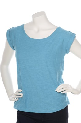 Lily & Me shirt surfside azure