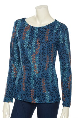 Lily & Me top blauw angela
