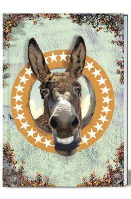 Lip International notitieboek donkey multicolor