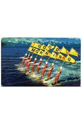 Lip International ontbijtplank goodmorning surfers multicolor